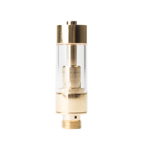 Kush Supply Co. 0.5ml Plastic CCELL Vaporizer Cartridge in Gold