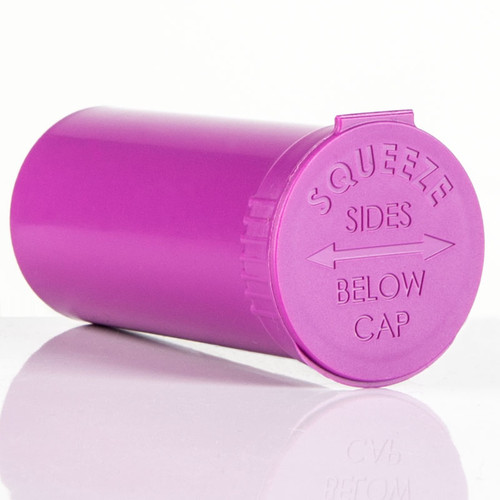 Kush Supply Co. Child Resistant Pop Top Bottle, 13 Dram
