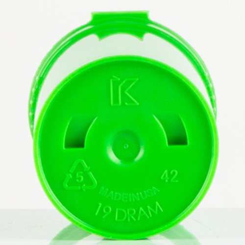 Kush Supply Co. Child Resistant Pop Top Bottle, 19 Dram