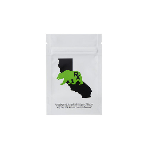 Kush Supply Co. 3.5 Gram Barrier Bag