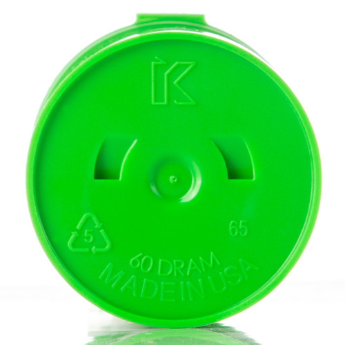 Kush Supply Co. Child Resistant Pop Top Bottle, 60 Dram