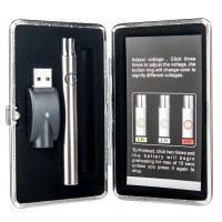Kush Supply Co. Adjustable Vape Pen Kit in Silver
