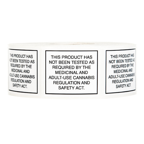 Kush Supply Co. Compliant Labels