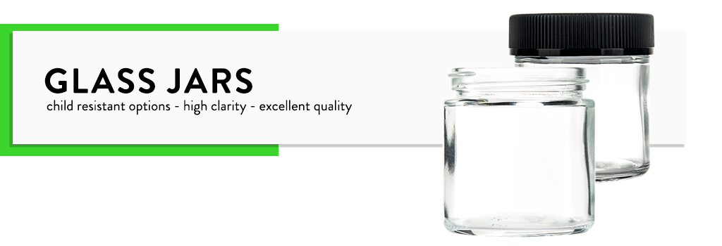 a51dfd8d10b Glass Jars - Child Resistant Cannabis Packaging