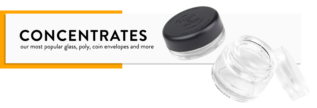 Cannabis Concentrate Packaging - Hash & Dab Containers
