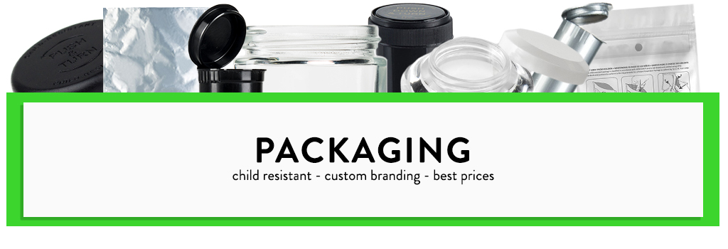 Cannabis Packaging - Flower, Concentrate and more | Kush