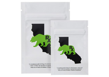 Mylar Barrier Bags for Wholesale Cannabis & Marijuana Packaging