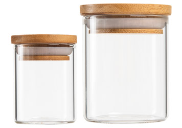 Glass Jars for Flower Cannabis and Marijuana Packaging