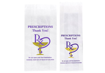 RX Paper Exit Bags for Packaging