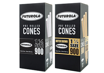 Pre-Rolled Blunt Cones for Packaging